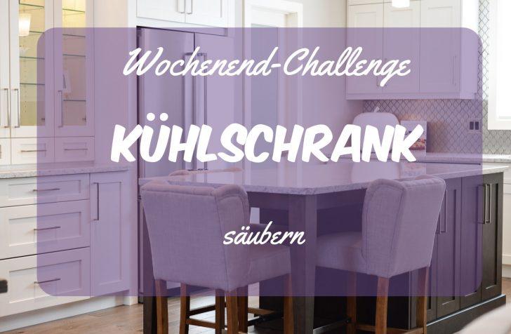 Wochenend-Challenge Kühlschrank