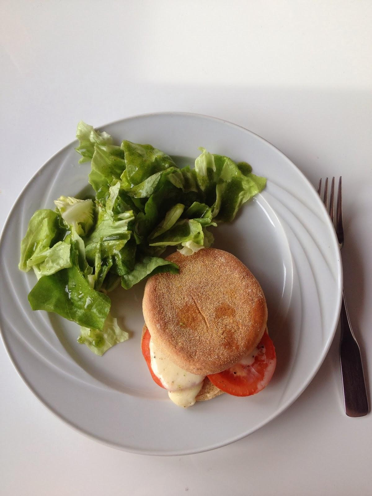 kochen, rezept, tomate, mozzarella, sandwich