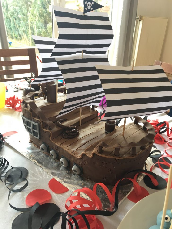 Leon's Piraten Party Teil 2 Essen und Deko