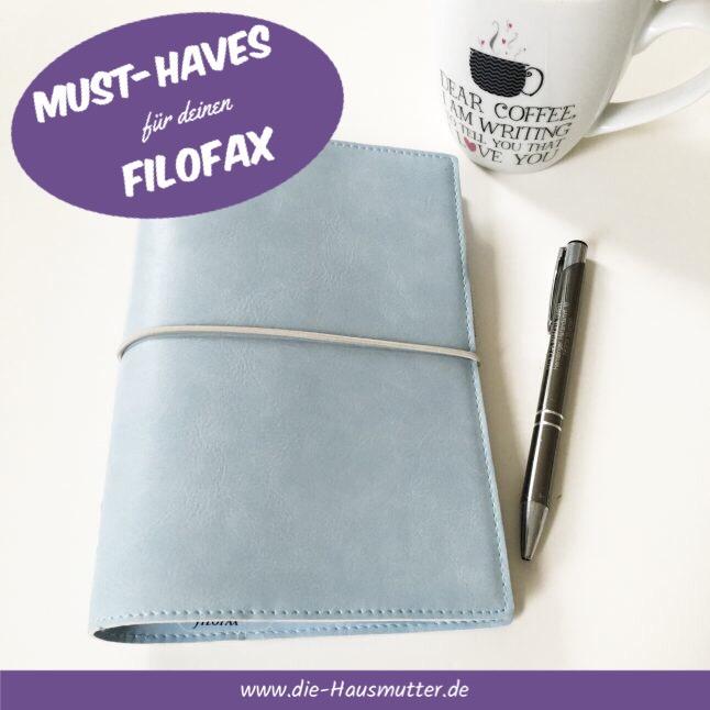 Top 6: Must-haves für den Filofax