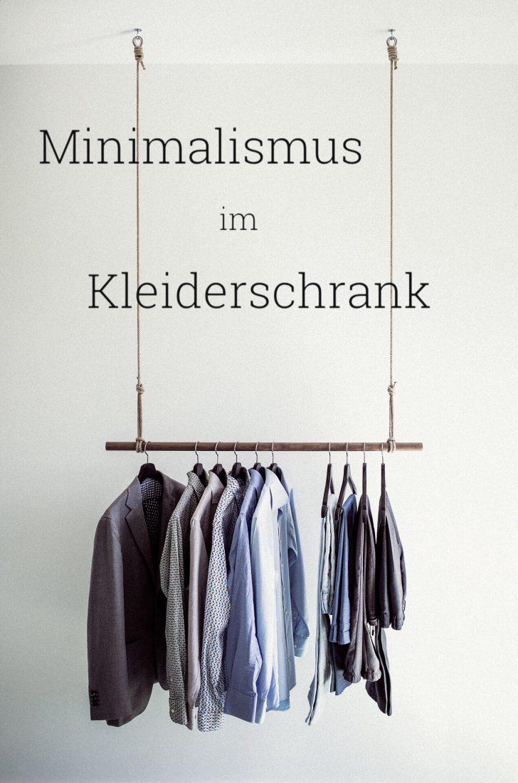 Minimalismus im Kleiderschrank