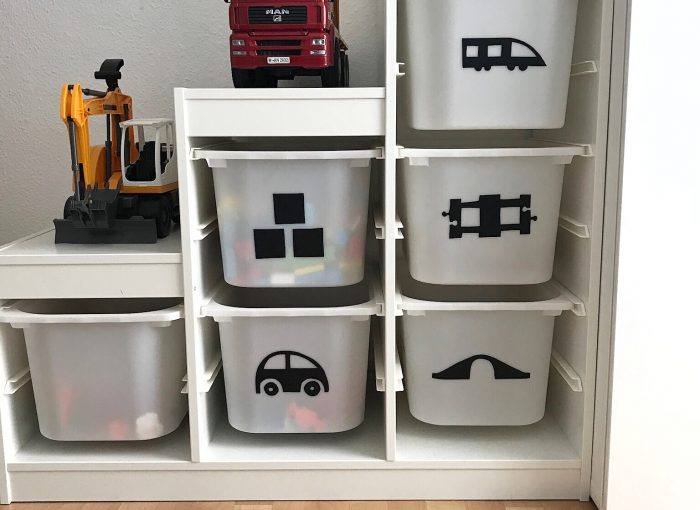 Ordnungssystem Für Kinder Diy Anleitung Für Ikea Trofast Die